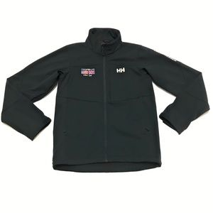 Helly Hansen Soft Shell Zip Up Track Jacket Small